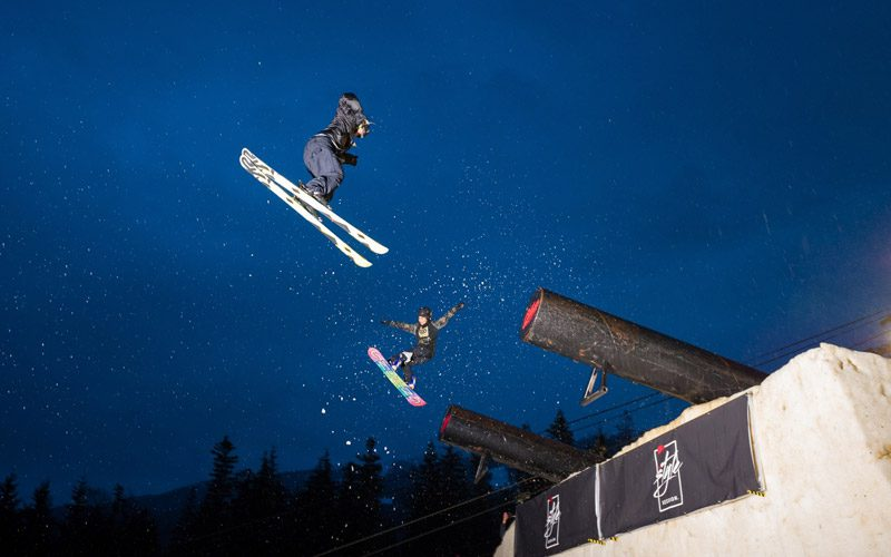 World Ski and Snowboard Festival Skiers