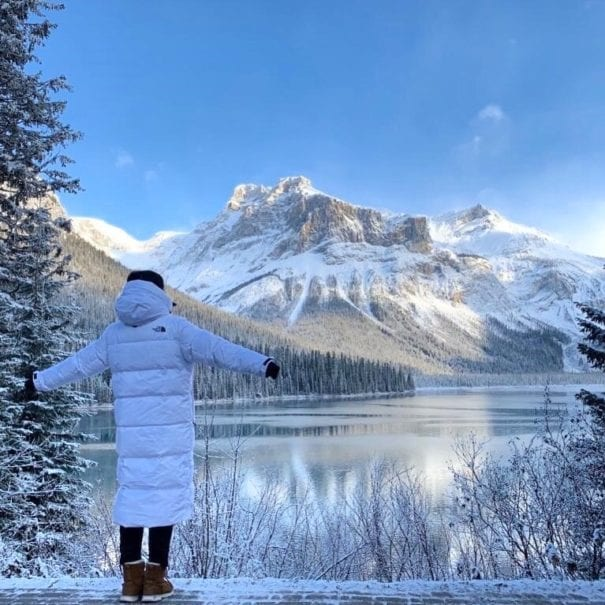 Emerald lake christmas