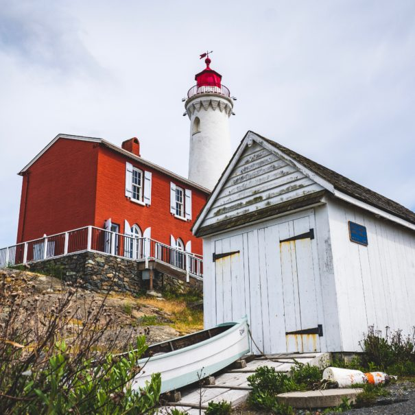 Fort Rodd Hill & Fisgard Lighthouse